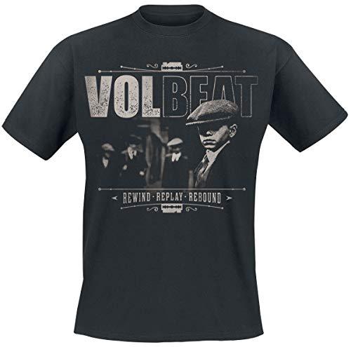 Volbeat The Gang Männer T-Shirt schwarz L 100% Baumwolle Band-Merch, Bands