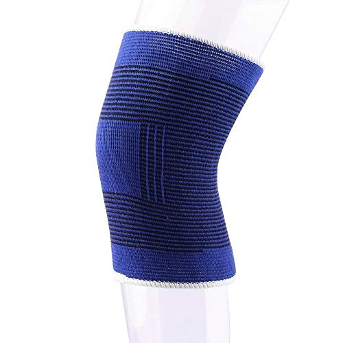 MUMUWU 1 stuks zacht elastisch Tight ademend Brace Knee Protector Pad Sports Verband Sport Kniebrace Pad (Size : 1pc)