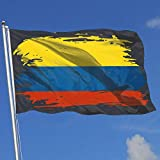 ShiHaiYunBai Flagge/Fahne, Home Backyard Garden Flag Colombia Flag 100% Polyester Single Layer...