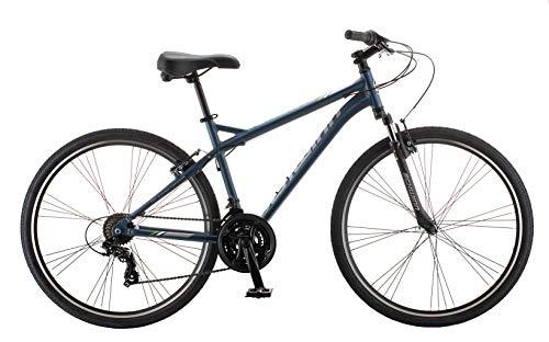 Schwinn Network Hybrid Bike, 1.5 Series, 15-inch Frame, Matte Blue (S8218AZ)