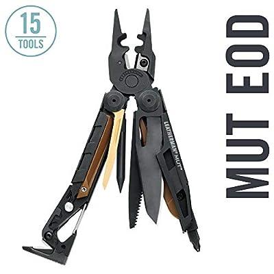 Leatherman - MUT EOD Multitool, Black with MOLLE Black Sheath
