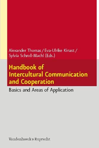 Handbook of Intercultural Communication and Cooperation: Basics and Areas of Application