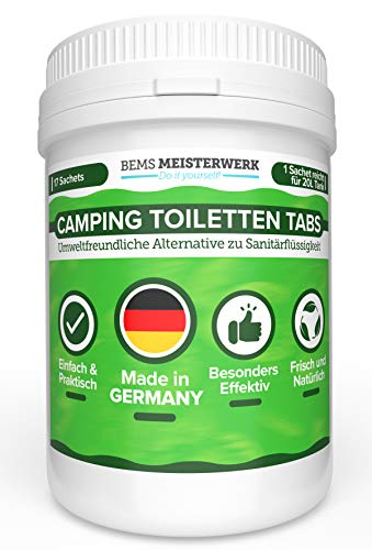 Camping WC Tabs Campingtoilette-...