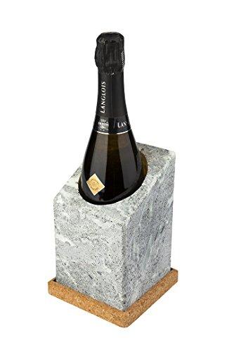 Täljsten vinkylare Flaschenkuehler–Eiswürfelform, Stein Wein