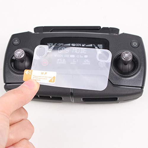 XUSUYUNCHUANG 2 stuks Remote Controller Screen Protector Scherm Film anti-kras Dust-proof for DJI Mavic Pro 2 Zoom Drone Kits drone Accessoires