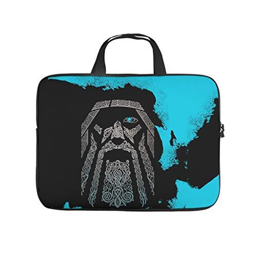 Viking Odin Blue - Funda para portátil (resistente a los arañazos), color azul