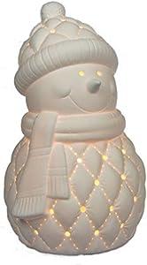 Plaristo porcellana lampada, ceramica, bianco