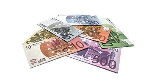 Cashbricks 7 x 10 Spielgeld Euro Scheine Set
