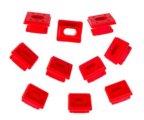 The Lord of the Tools 10 clips para embellecedores interiores del salpicadero para E46 3 E65 7 Series X3 E85 51458266814
