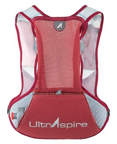 Ultraspire Basham - Chaleco de carreras unisex, Universal (Chest Size: 26″-48″), Borgoña/Tomate Cherry