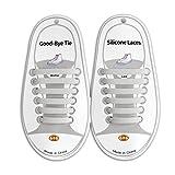 Adult elastic no tie shoelaces rubber Colorful DIY lazy shoelaces silicone Athletic no loosen shoelaces