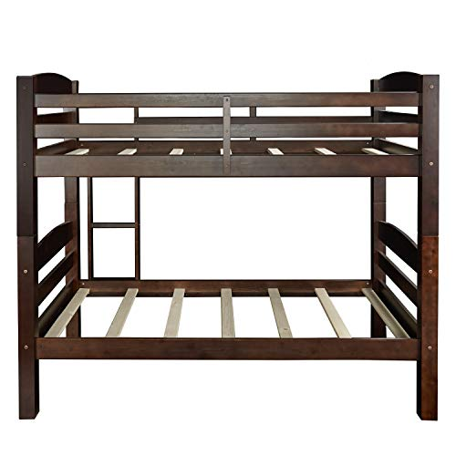 Powell Bunk Bed, Espresso, Twin,