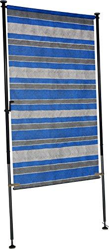 Angerer Balkon Sichtschutz Nr. 3100 blau, 150 cm breit, 2319/3100