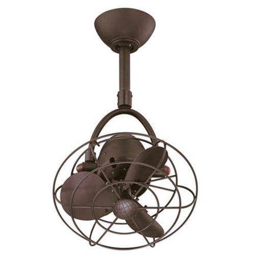 Matthews Fan Company DI-TB-MTL Diane 13' Directional Outdoor Ceiling Fan with Remote...