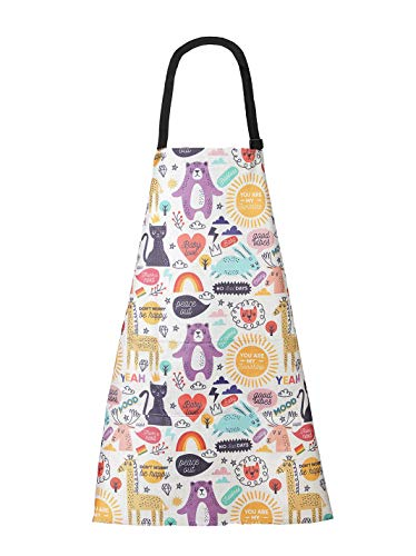 Aprons for Women Man with Pockets - Kitchen Cooking Chef Baking BBQ Bib Apron - Plus Size Adjustable Cute Print Aprons