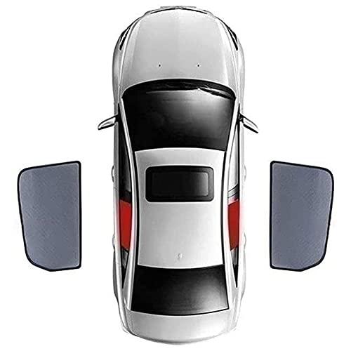 Parasol De Coche Para Ventana Lateral Para Lexus ES 2018 2019, MagnéTico Parasoles Coche Laterales Traseras A Medida Para Bebés, Niños y Mascotas para Máxima Protección contra Rayos UVA