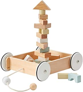 Kids Concept Building Games Kids ConceptWagon with Blocks, Multicolor (1)