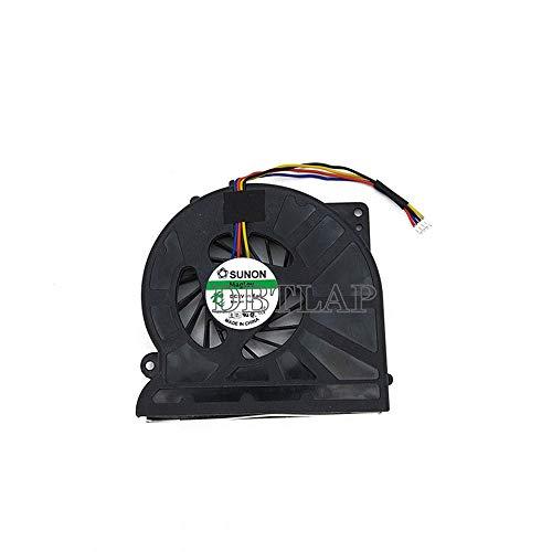 DBTLAP Ventilador de la CPU del Ordenador portátil para ASUS A52JR A52JE A52JT A52DR A52Jc X52J P52JC P52F X72DR CPU enfriamiento Ventilador 4 Pin