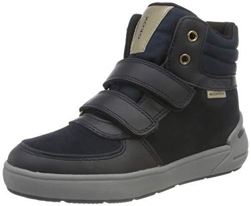 Geox J Sleigh Girl WPF B, Rain Shoe para Niñas, (Dk Navy), 27 EU