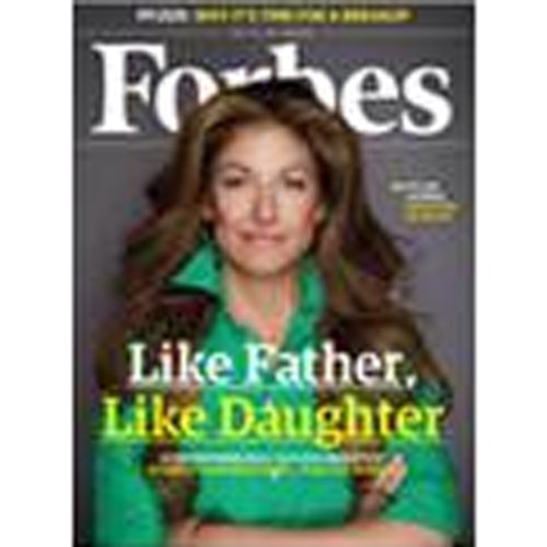 Forbes, May 9, 2011 audiobook cover art