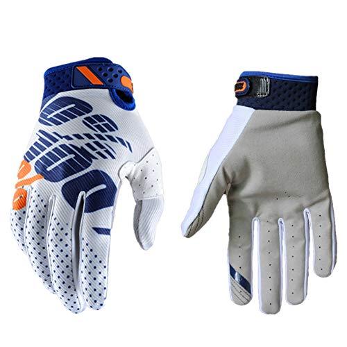 Handschuhe Herren Touchscreen Fahrrad Handschuhe Herren Langlauf Handschuhe Herren Wintersporthandschuhe Fahrradhandschuhe Herren Winter Bikerhandschuhe Für Männer White,XL