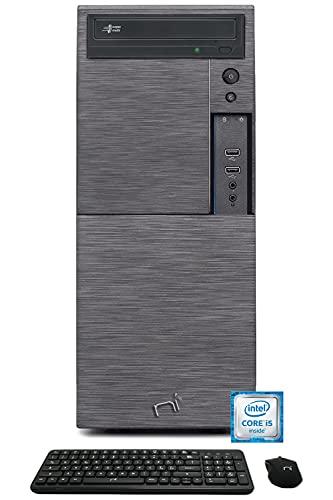 PC Computer Desktop Assemblato Intel Core i5-3470, Ram 16GB DDR3, SSD 240GB, Hard Disk 1TB, DVD-RW, HDMI VGA, Windows 10 Pro