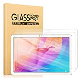 Pnakqil [2 Piezas] Protector de para Pantalla Huawei Matepad T10 T10s T 10s 10.1 Pulgadas 2020,Protector de Cristal Vidrio Templado Premium Transparencia HD [Anti-arañazos] [No Burbujas]