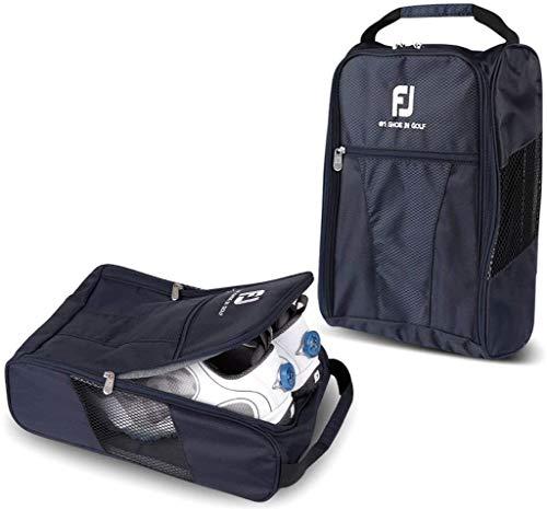 Footjoy Genuine Golf Schuhe Bag Sporttasche mit Reißverschluss Schuh Fall–Marineblau Farbe