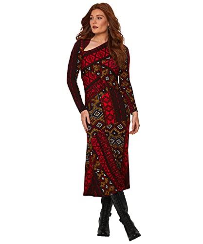 Joe Browns Oh So Unique Dress Vestito Casual, Multi, 44 Donna