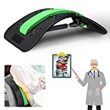 Back Spine Deck Stretcher, Lower and Upper Lumbar Stretcher, Multi-Level Back Stretching Device, LIUMY, Magic Stretcher Fitness Stretch Equipment, Best Relaxation Gifts for Your Family and Friend