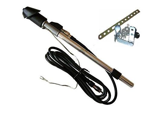 MERCEDES W202 C180 C200 C220 C240 C260 Kotflügel Antenne Teleskopantenne DIN-Stecker