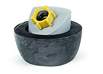 Camco Easy Slip Gray Water Seal Sewer Fitting - Provides a Odor and Leak Proof Seal When Draining RV Camper Gray Water  39322