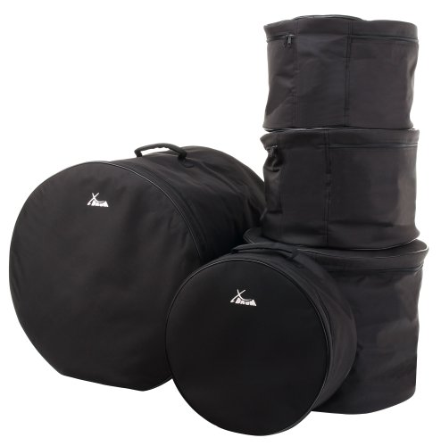"XDrum Classic Drum Bag Set, Standard sizes: 22"" 16"" 13"" 12"" 14,5"""