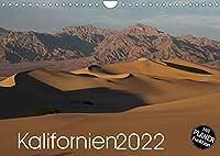 Kalifornien 2022 (Wandkalender 2022 DIN A4 quer): Die faszinierenden Landschaften Kaliforniens - die wilde Kueste des Pazifik, die Berge der Sierra Nevada, aber auch die Wuesten und Felsformationen im Landesinneren werden Sie begeistern. (Geburtstagskalender, 14 Seiten )