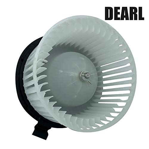 Front AC Heater Blower Motor with Fan Compatible with 07-11 Versa / 12-12 Versa (Hatchback) Replaces 27226EE91C 75879 PM9376