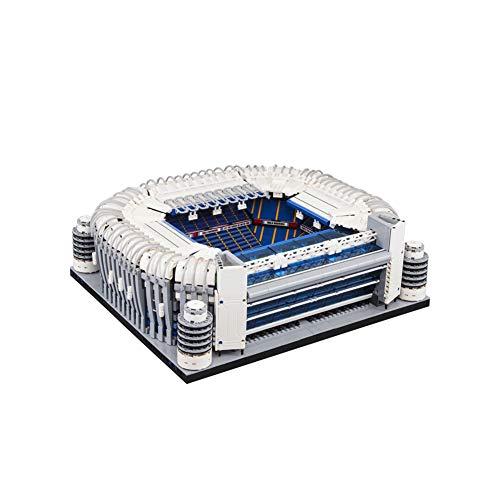 Pessica Estadio 3D Jigsaw, Real Madrid F.C. Puzzle Santiago Bernabeu - Multicolor con luz LED Regalo Halloween