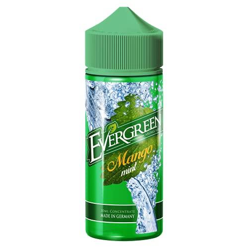 Evergreen Evergreen E-Liquid Aroma Mango Mint, e Liquid für e-Zigarette, 30 ml, ohne Nikotin