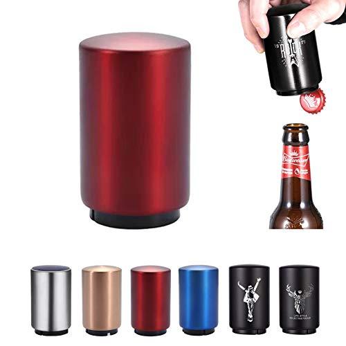 SUOXU - Apribottiglie magnetico automatico per bottiglie di birra, apribottiglie, apribottiglie,...