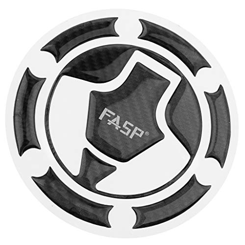 perfk Motorrad Gas-Kraftstoff-Abdeckung Tankdeckel Entlüftungsventil Tankdeckel Aufkleber Pad für Kawasaki Ninja Z250 Z300 14-18