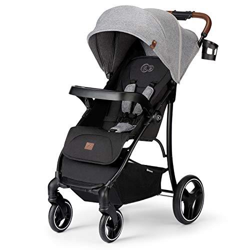 Kinderkraft Kinderwagen CRUISER LX, Kinderbuggy, Liegewagen, Sportwagen, Zusammenklappen, mit Schlaffunktion, 4 Rad...