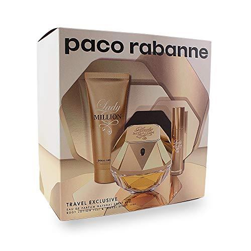 Paco Rabanne Lady Million Edp Vapo 80 Ml+ Bl75 +Ts10 150 g