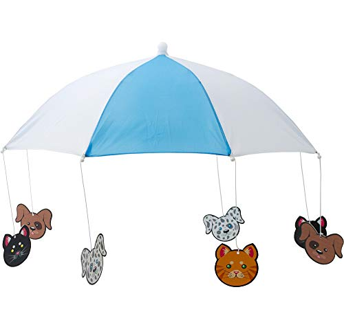 """M&J Trimmings Papillion Accessories Raining Cats and Dogs Hat Halloween Costume Accessory, One Size, 24"""""""