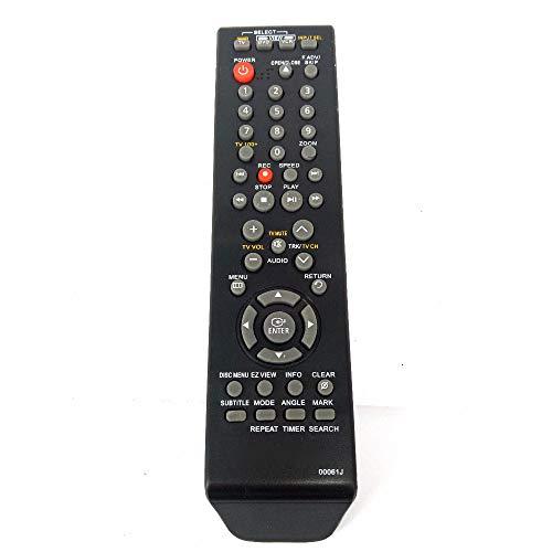 New 00061J Remote Control Replace for Samsung DVD VCR Combo DVD-V9700 DVD-V9800