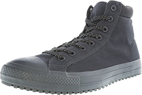 Converse CHUCK TAYLOR ALL STAR SHIELD CANVAS PC HIGH TOP BOOTS mens boots 153681C-049_7 - Almost Black / Almost Black