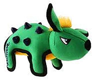 Gigwi Duraspikes Durable Rabbit Toy for Dog, Green