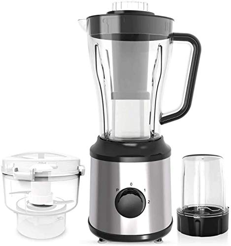 Rabbfay Professional Countertop Blender, Shakes and Smoothies Maker, High Speed Ice Crusher with 2200-Watt, 3 Speed Control and 1800ml Glass Jar, 3 Sharp Blades,Black