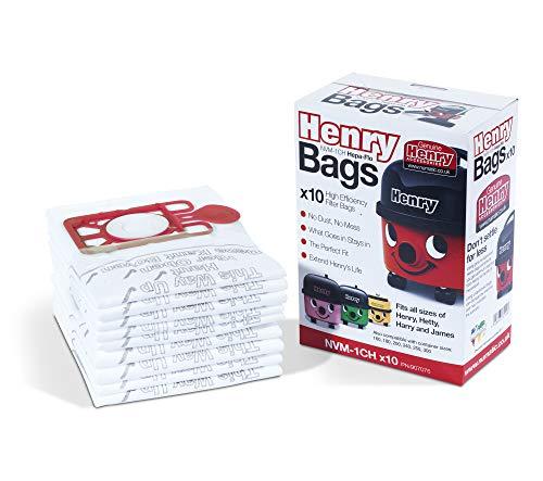 Numatic Henry Branded Dust Bags for Henry Hetty Harry James