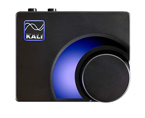 Kali Audio MV-BT Professioneller Monitor Controller &Bluetooth-Empfänger - Wireless Audio Transmitter (Bluetooth Adapter, XLR- / 6,3 mm Klinken-Stereo-Output, LED-Meter) schwarz