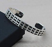 Bracelet Mixte Argent. Bijoux Unisexe