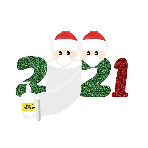 FKSESG 2021 Christmas Party Decoration Gifts Personalized Family Stickers Round Stickers